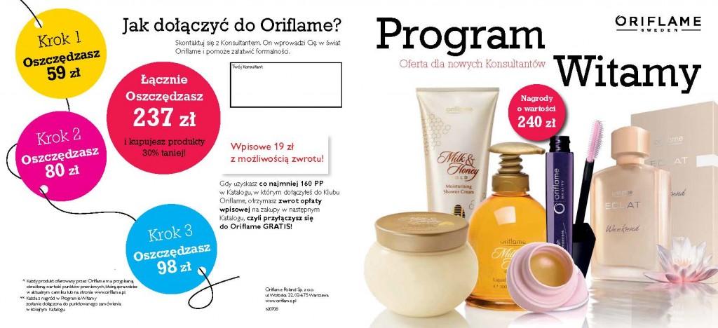 Katalog Oriflame 10 program witamy 1