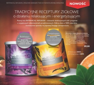 Herbatki Wellness by Oriflame