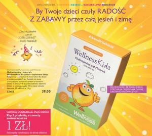 Kat Wellness 14 suplementy dla dzieci