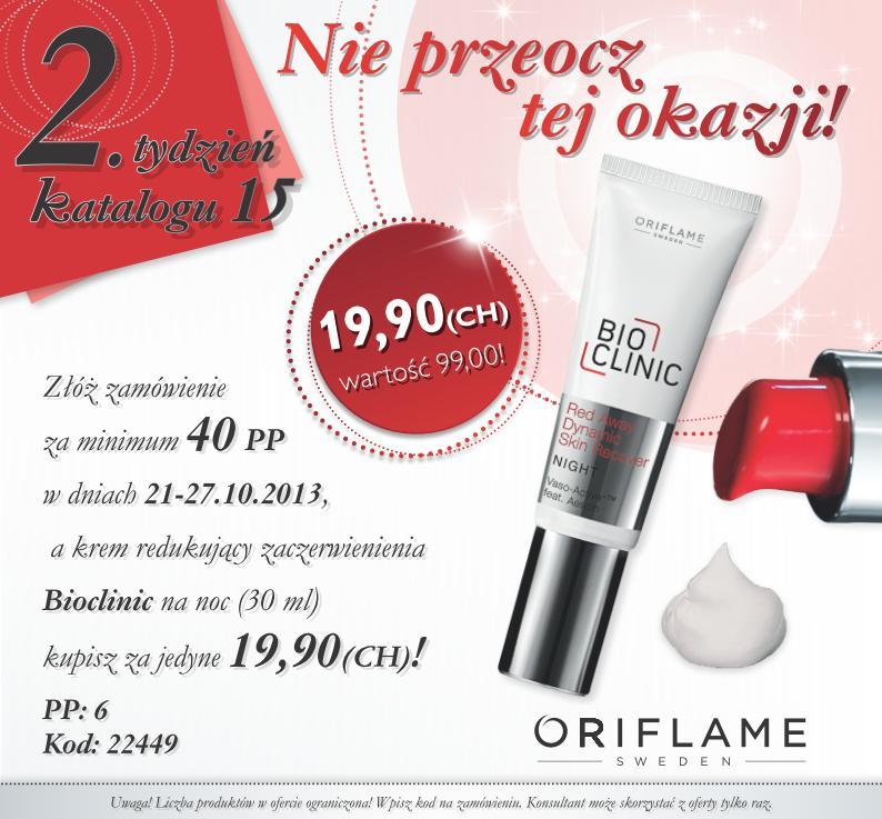 Katalog Oriflame 15 2013 oferta 2 tydzień