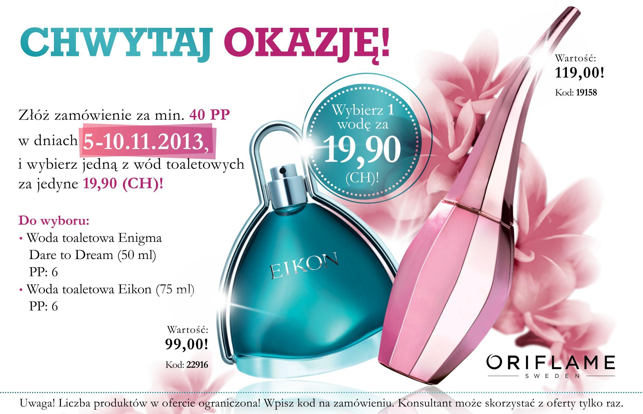 Katalog Oriflame 16 2013 oferta  na 1 tydzień
