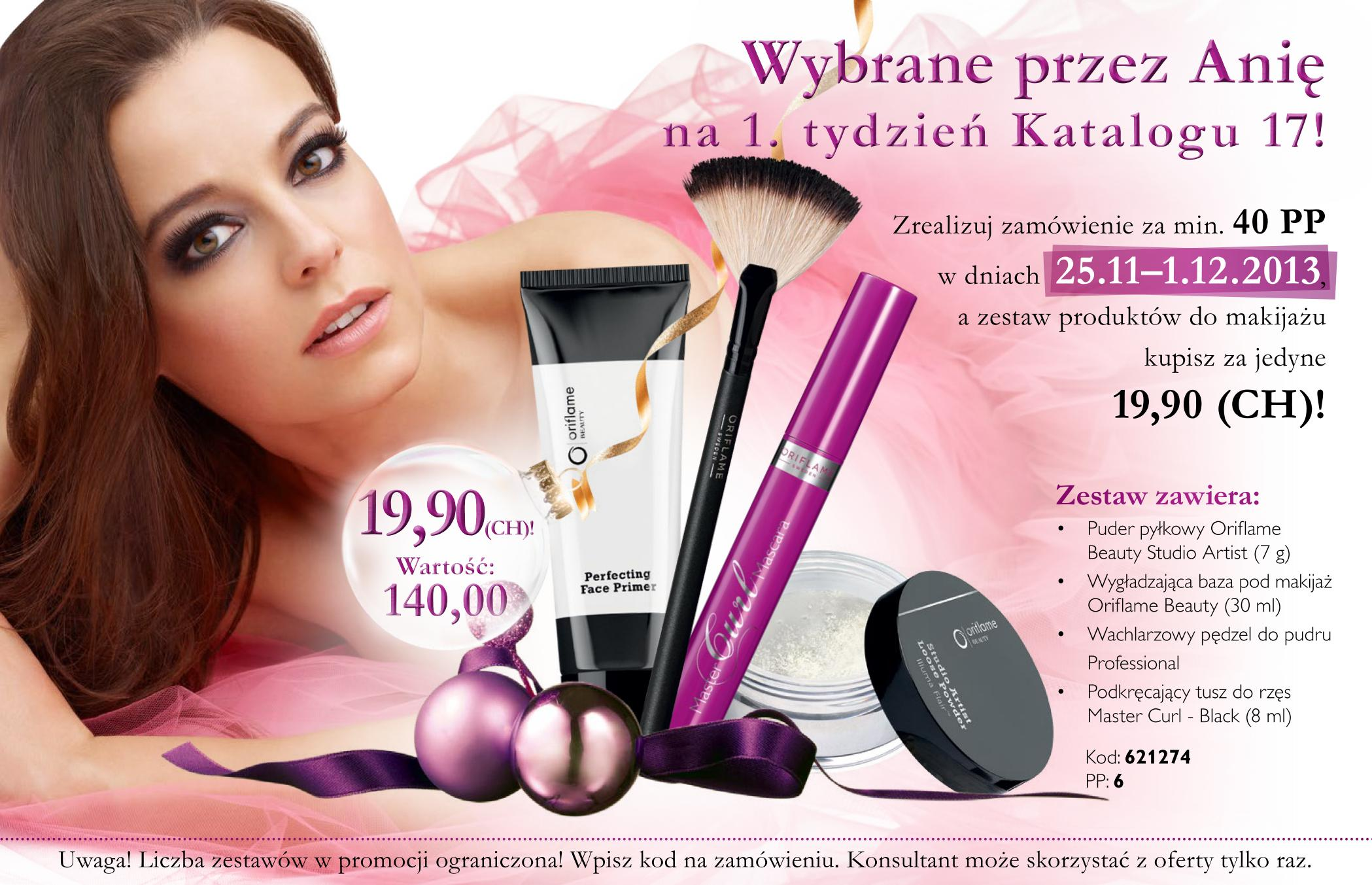 Katalog Oriflame 17 2013 oferta na 1 tydzień