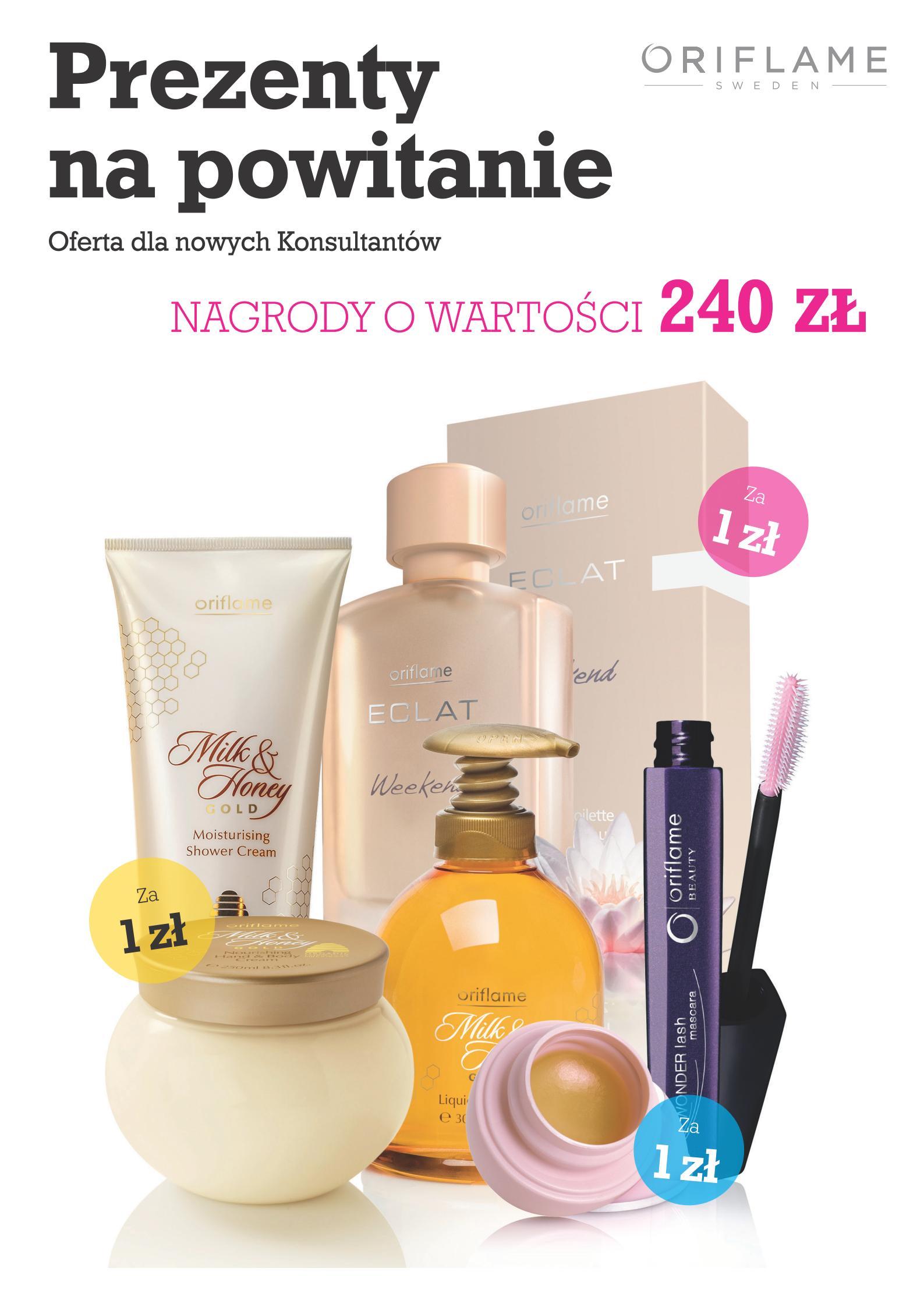 Katalog Oriflame 1 2014 Program Witamy