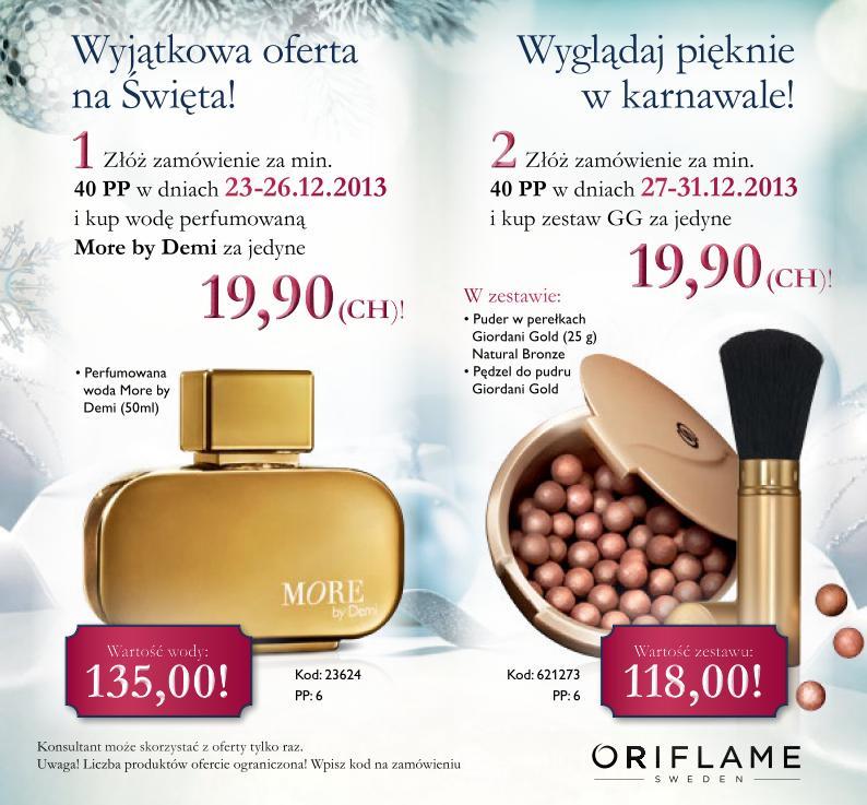 Katalog Oriflame 1 2014 oferta specjalna 1