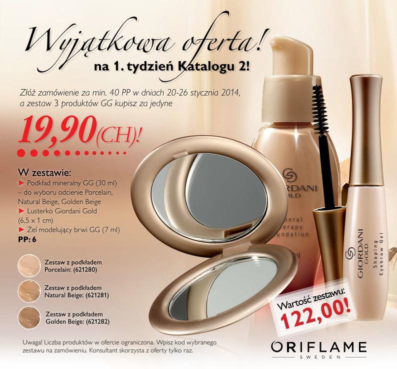 Katalog Oriflame 2 2014 oferta na 1 tydzień ulotka
