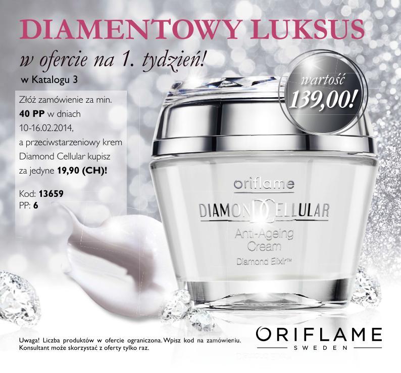 Katalog Oriflame 3 2014 oferta na 1 tydzień