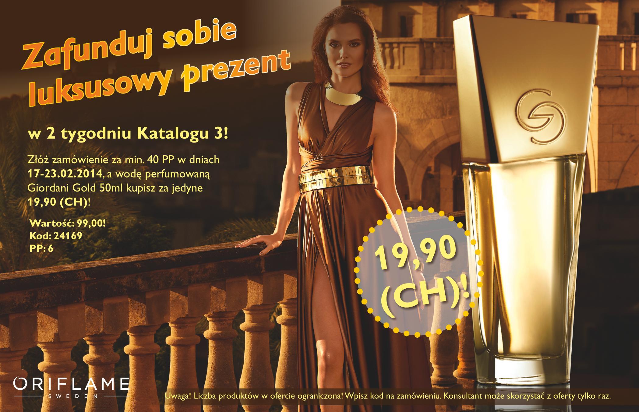 Katalog Oriflame 3 2014 oferta na 2 tydzień