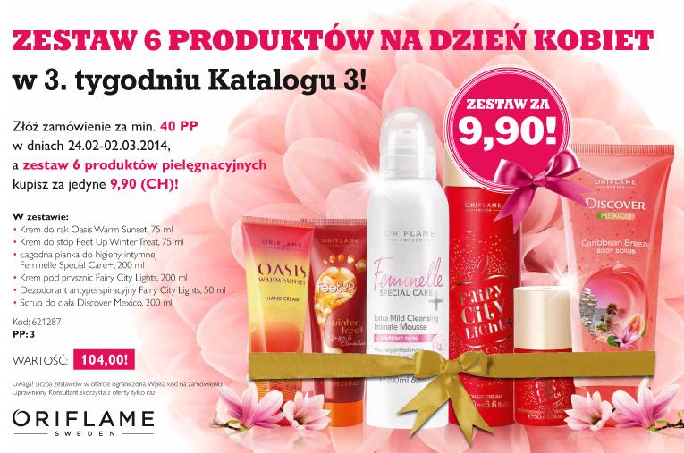 Katalog Oriflame 3 2014 oferta na 3 tydzień