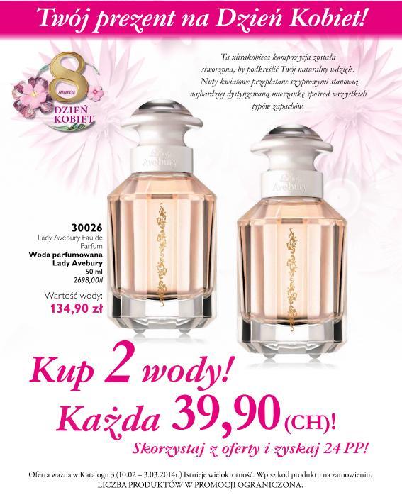 Katalog Oriflame 3 2014 oferta na Dzień Kobiet 1
