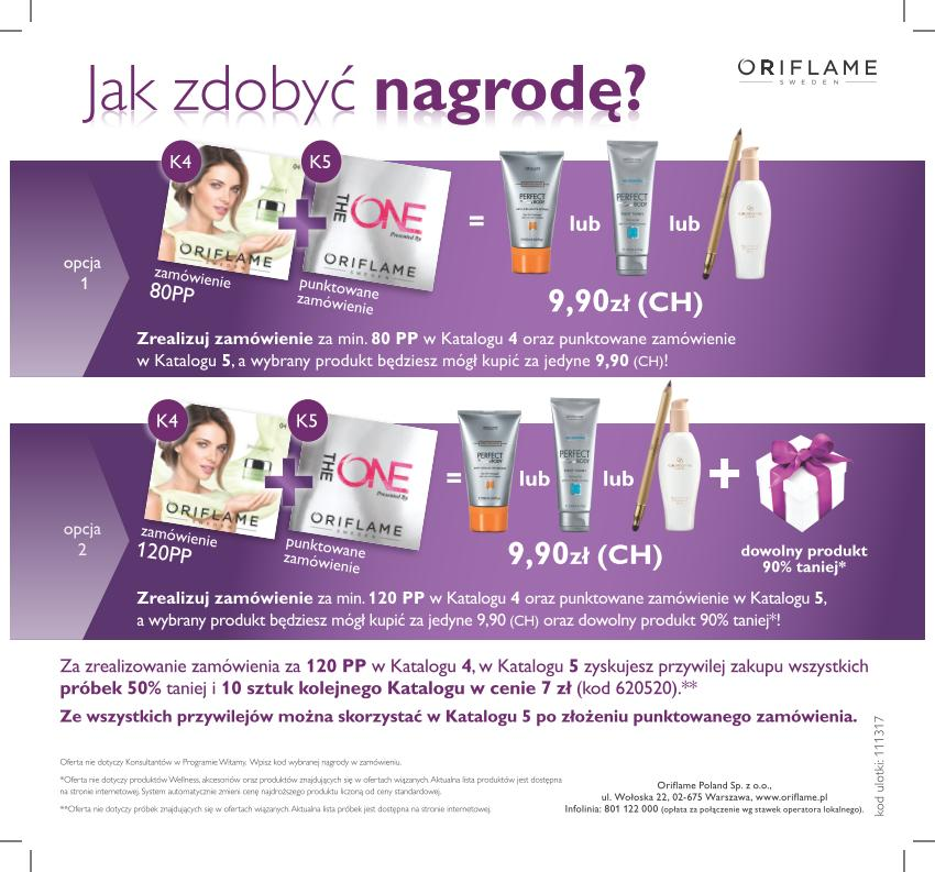 Katalog Oriflame 4 2014 program lojalnościowy1