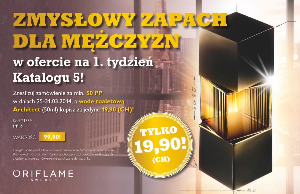 Katalog Oriflame 5 2014 oferta na 1 tydzień