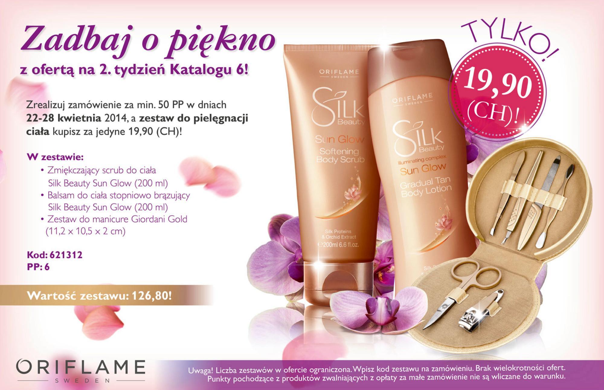 Katalog Oriflame 6 2014 oferta na 2 tydzień