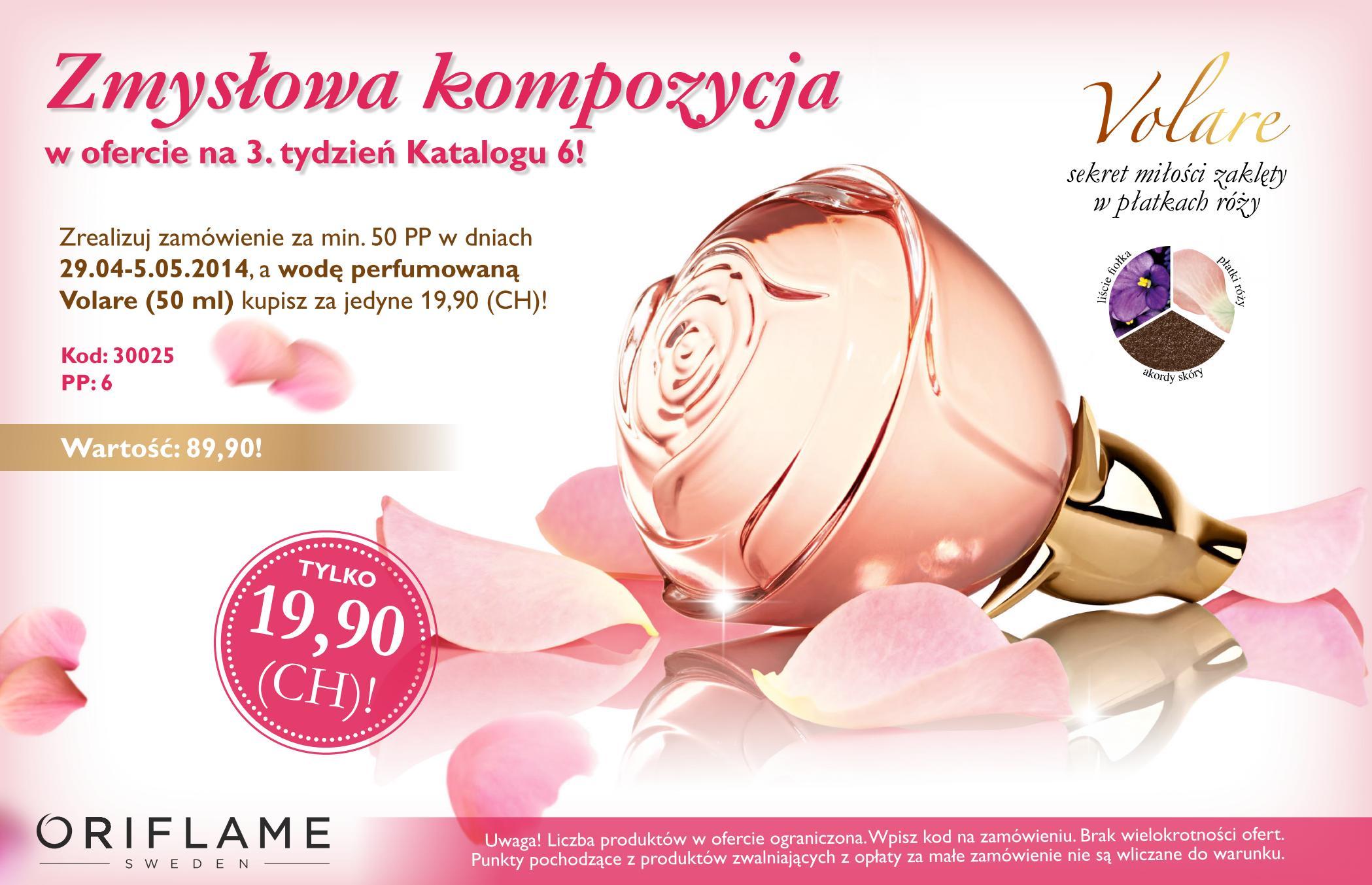 Katalog Oriflame 6 2014 oferta na 3 tydzień