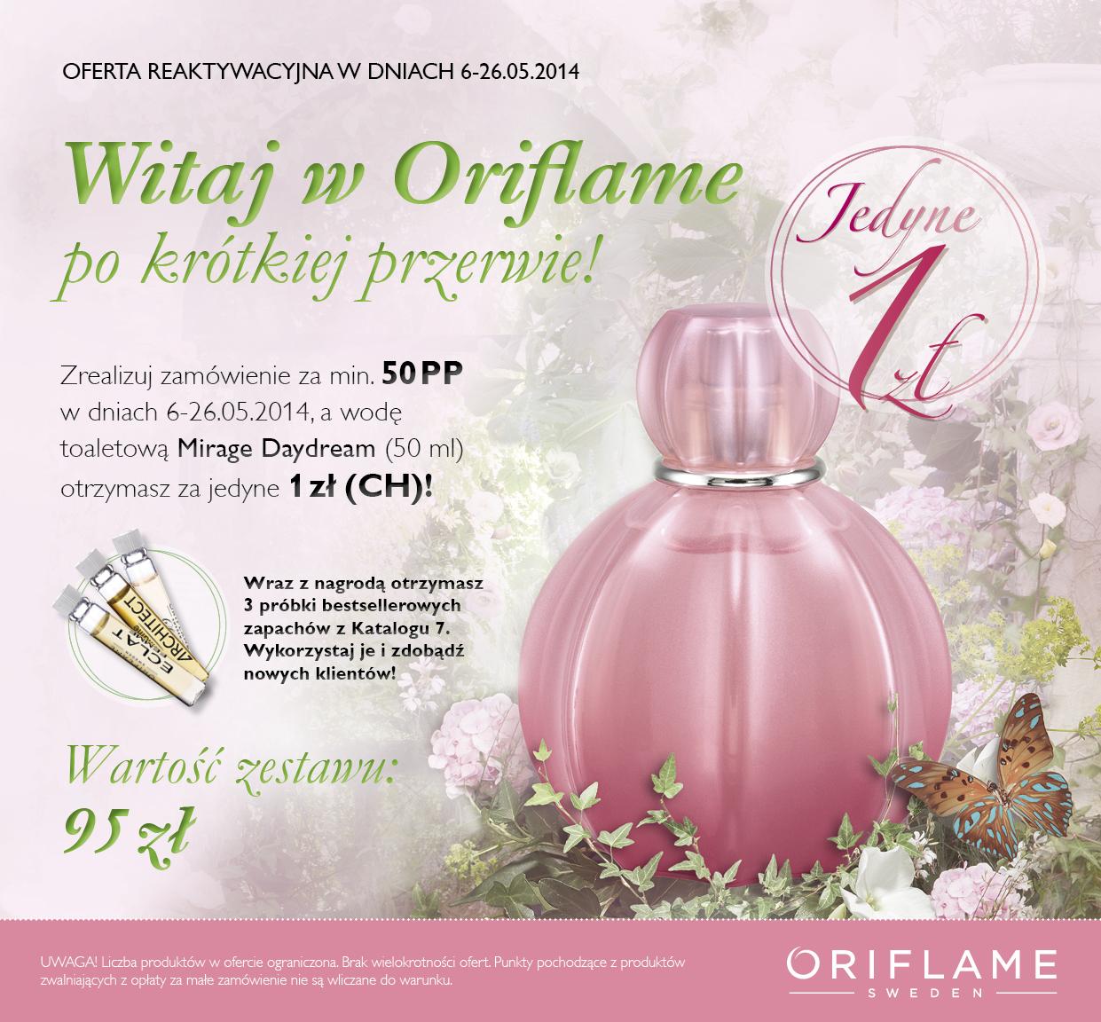Katalog Oriflame 7 2014 Reaktywacja