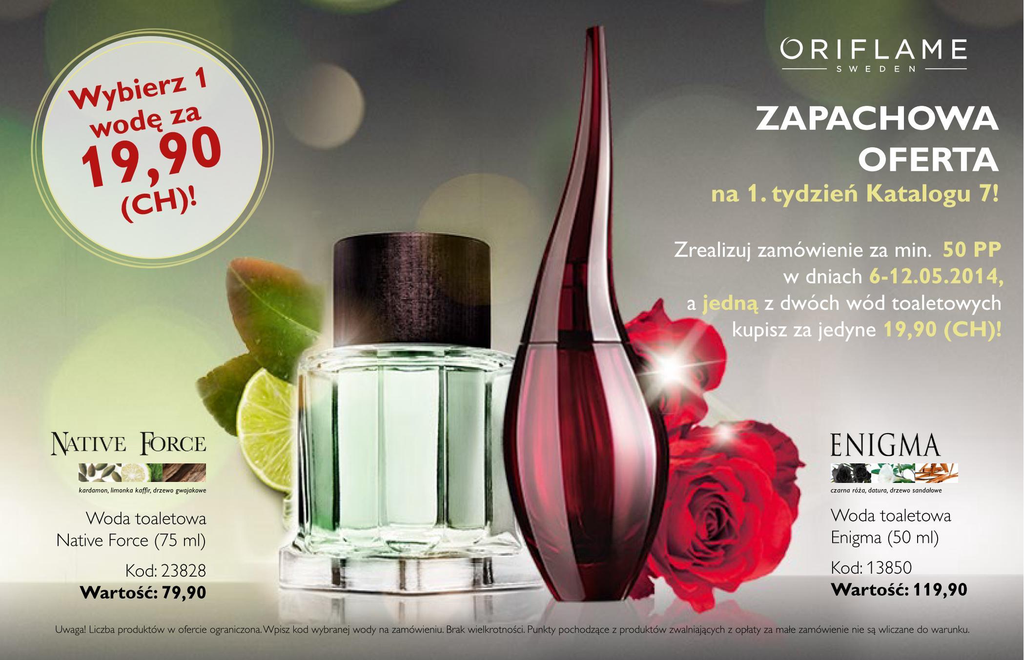 Katalog Oriflame 7 2014 oferta na 1 tydzień
