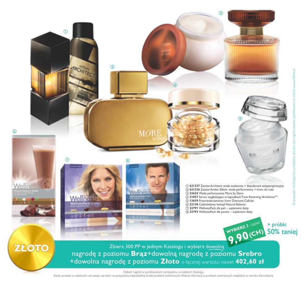 Katalog Oriflame 10 2014 Bonus dla Urody złoto