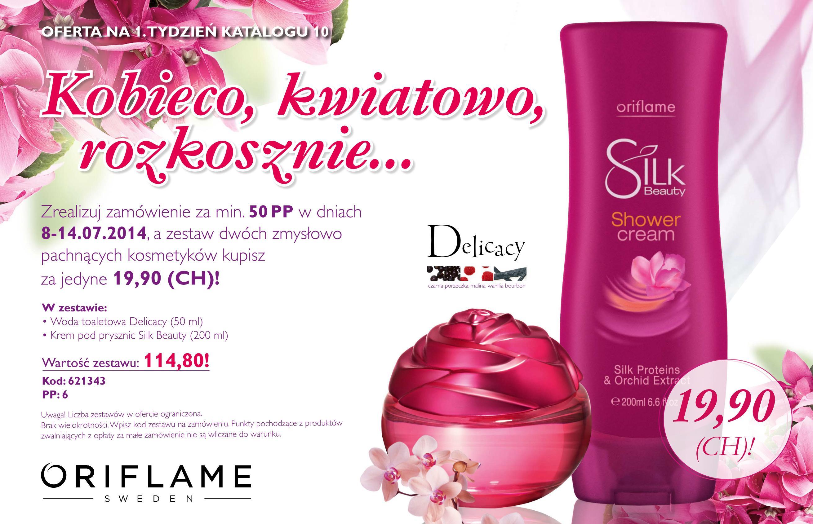 Katalog Oriflame 10 2014 oferta 1 tydzień 2
