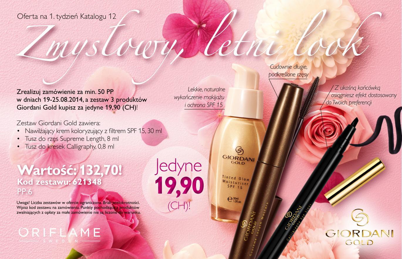 katalog Oriflame 12 2014 oferta na 1 tydzień