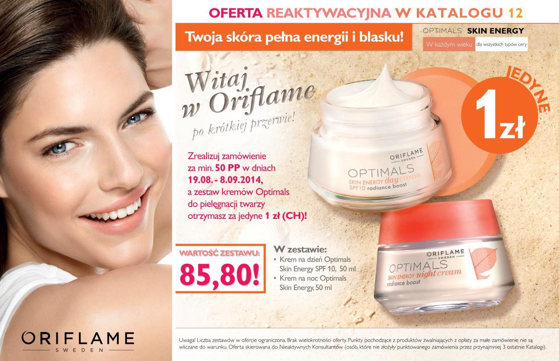 katalog Oriflame 12 2014 oferta reaktywacyjna