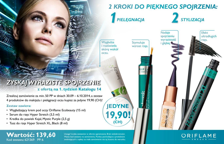Katalog Oriflame 14 2014 oferta na 1 tydzień