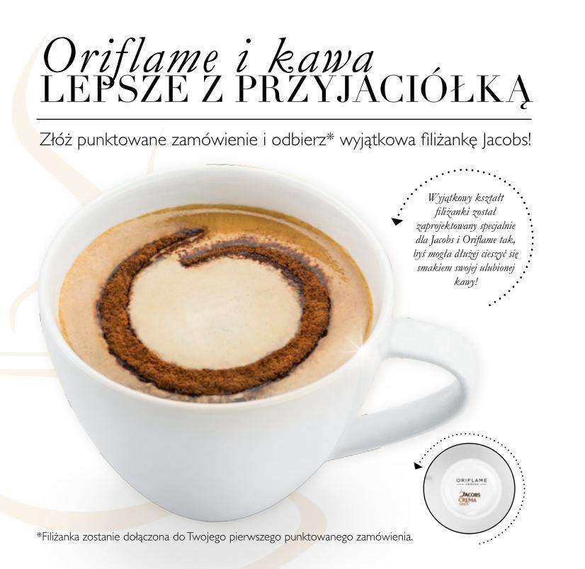 Katalog Oriflame 14 2014 program witamy filiżanka