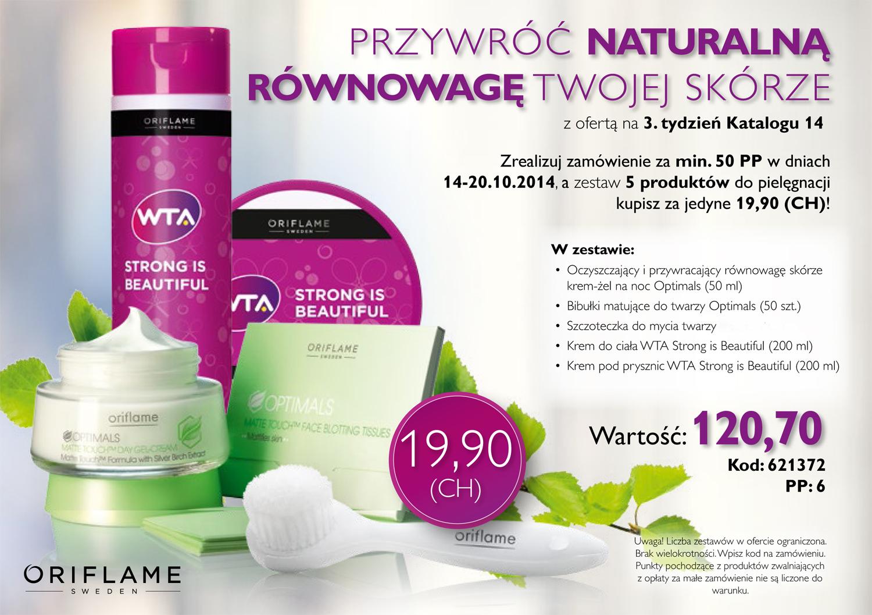 Katalog Oriflame 14 2014 oferta na 3.tydzień