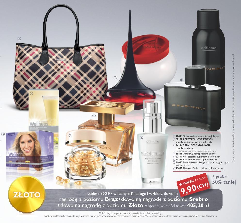 Katalog Oriflame 16 2014 Bonus dla urody kat_16_17_nagrody złoto