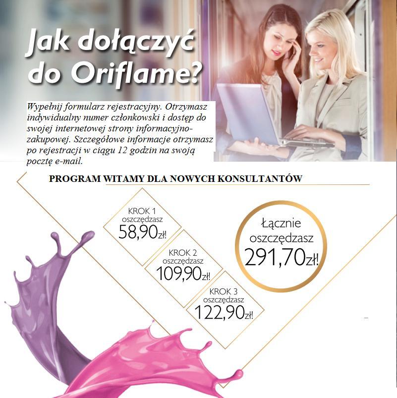 Katalog Oriflame 16 2014 program Witamy 16_17_jak dołączyć do Oriflame