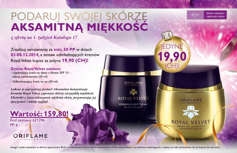 Katalog Oriflame 17 2014 oferta na 1 tydzień
