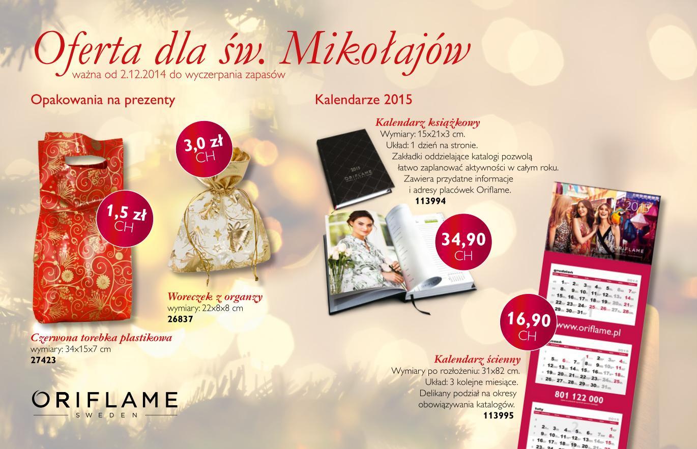 Katalog Oriflame 17 2014 oferta online Mikolaj_Online