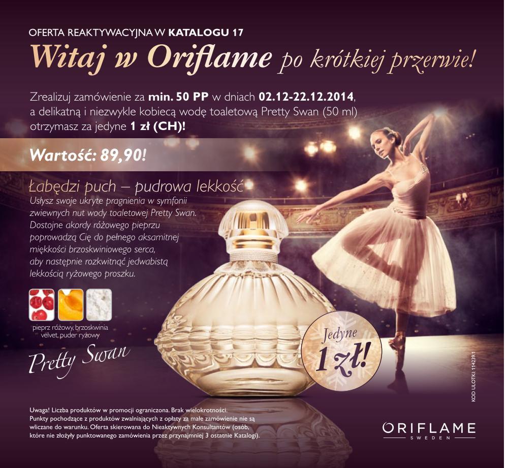 Katalog Oriflame 17 2014 oferta reaktywacyjna