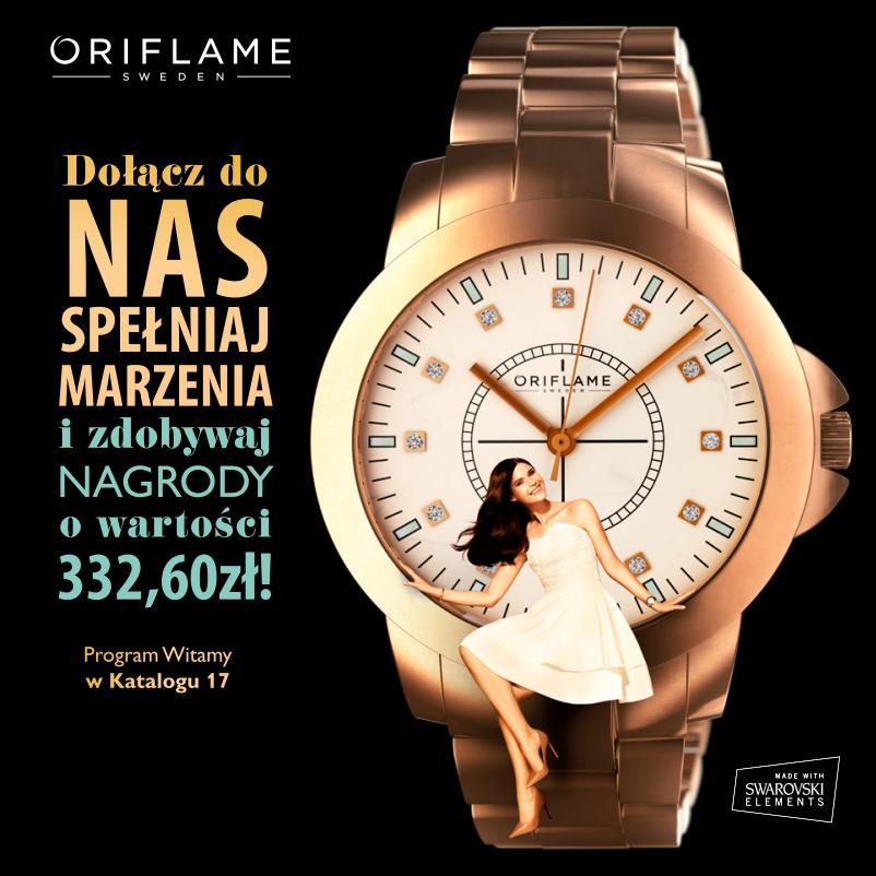 Katalog Oriflame 17 2014 program Witamy okładka