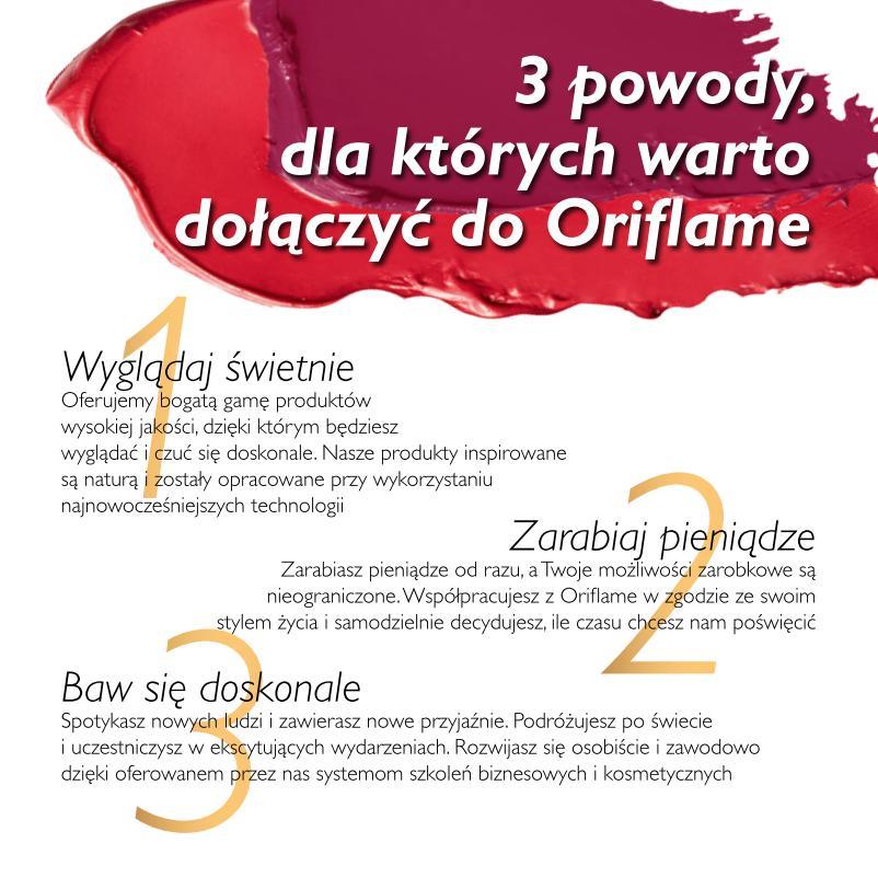 Katalog Oriflame 1_2015 program Witamy 3 powody do Oriflame