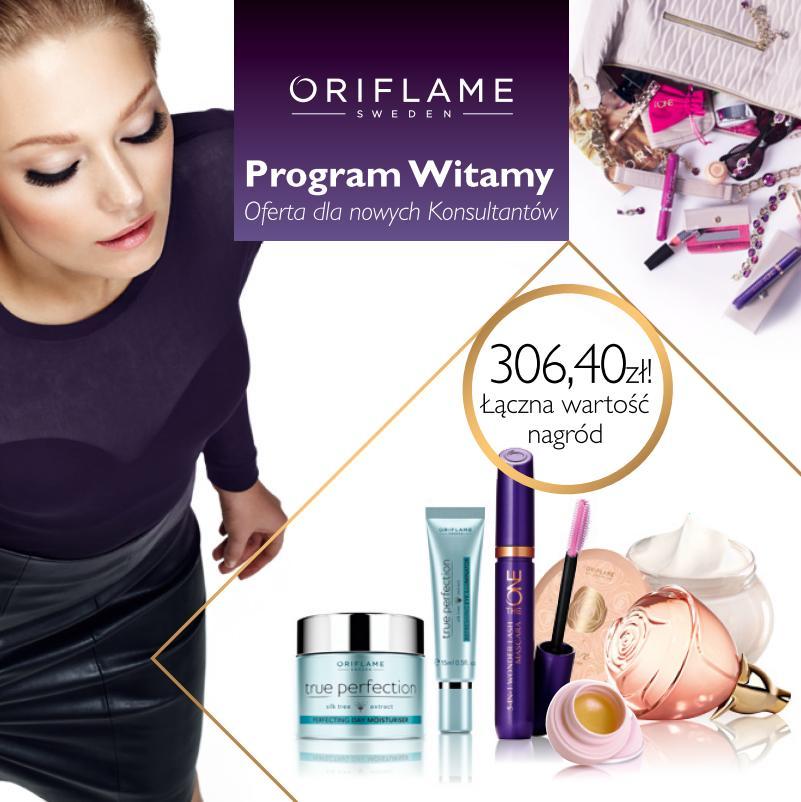 Katalog Oriflame 1_2015 program Witamy okładka