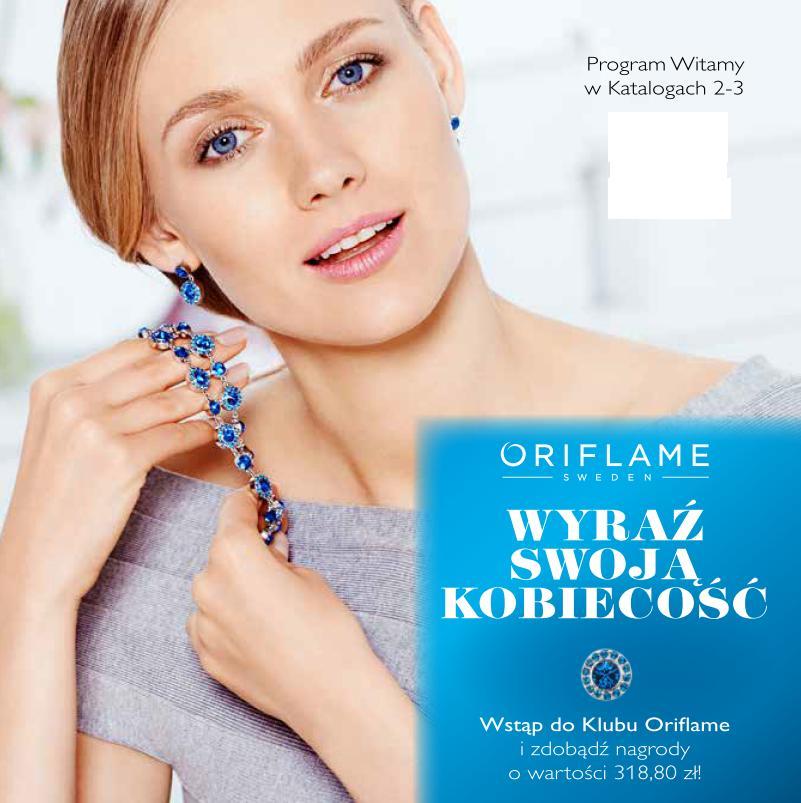 Katalog Oriflame 2 2015 program Witamy okładka