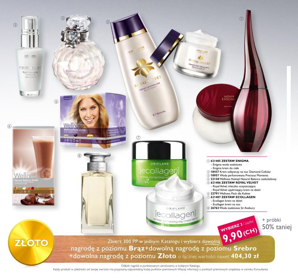 Katalog Oriflame 3 2015_bonus dla urody_nagrody złoto