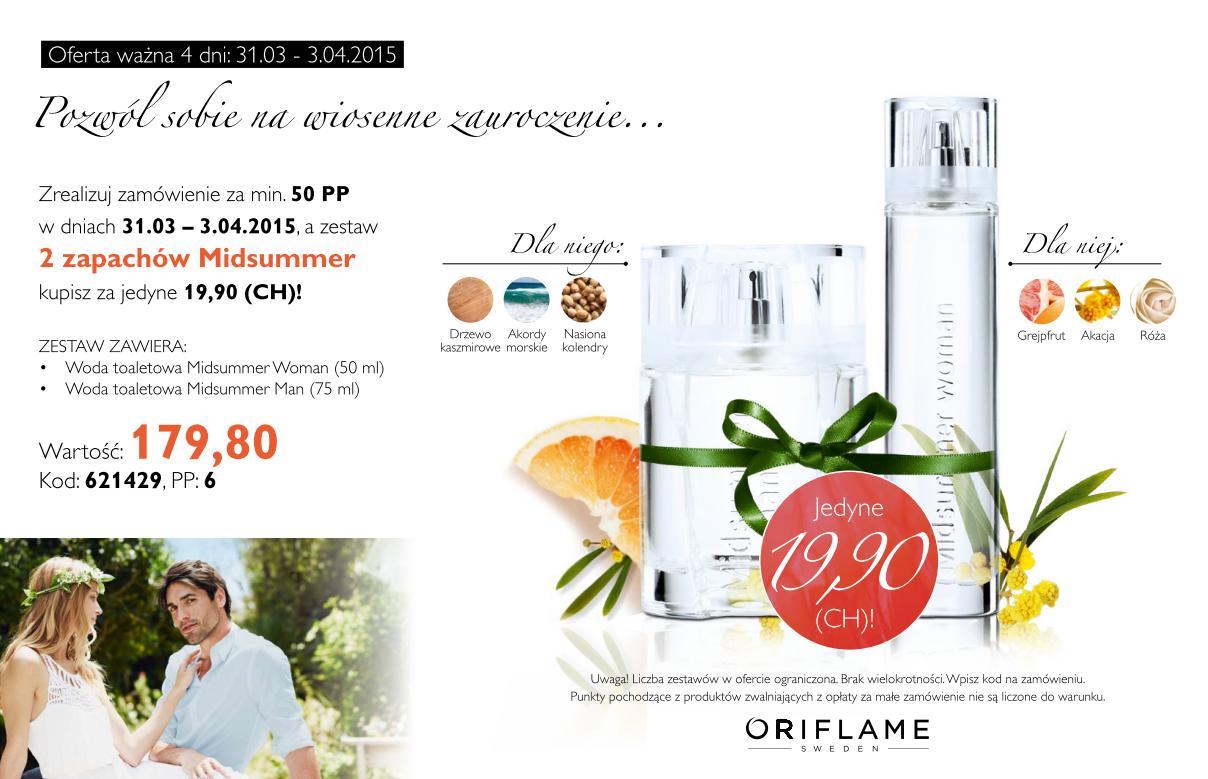 Katalog Oriflame 5 2015 oferta na 2 tydzień