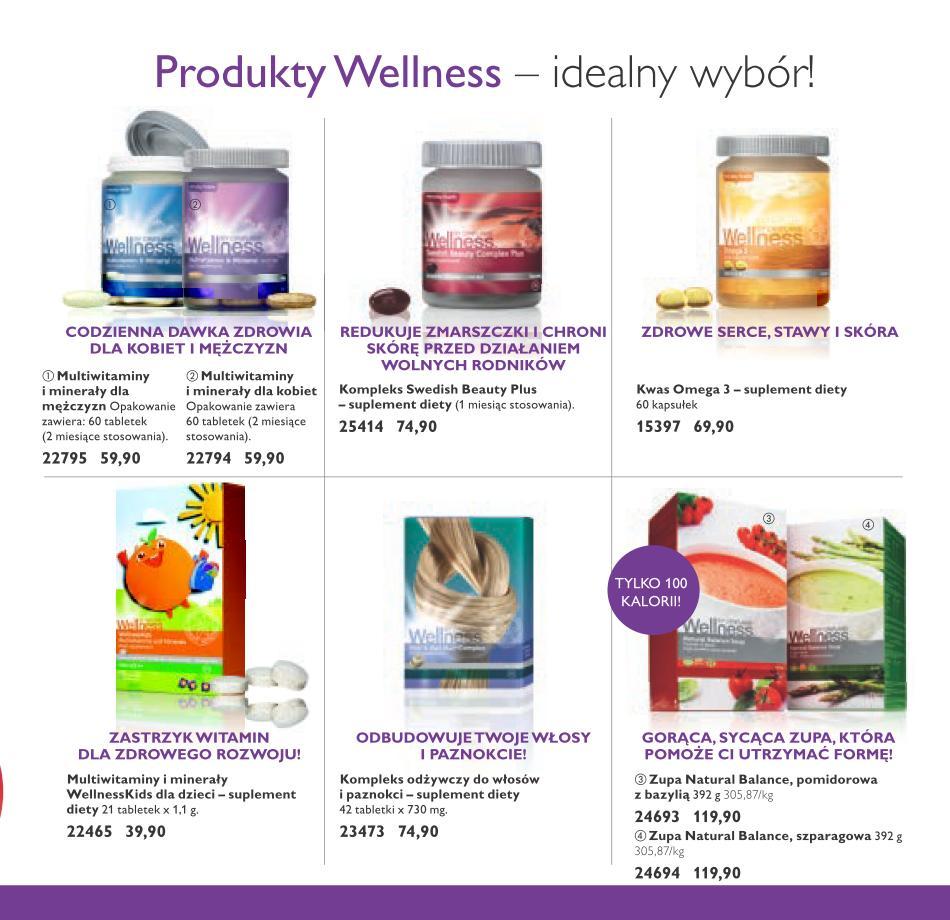 Wellness Oriflame produkty