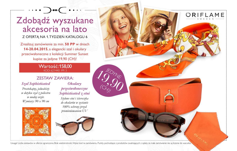 Katalog Oriflame 6 2015 oferta na 1 tydzień