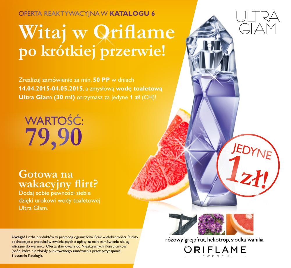 Katalog Oriflame 6 2015 oferta reaktywacyjna