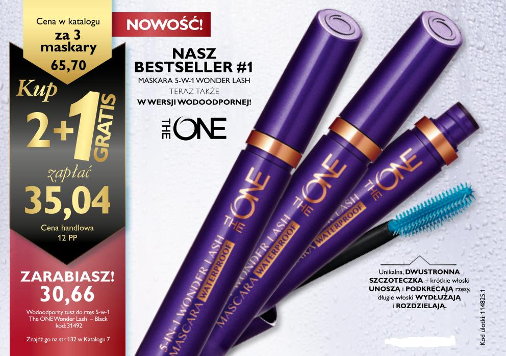 Katalog Oriflame 7 2015 oferta biznesowa maskara