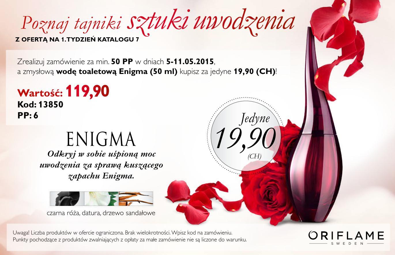 Katalog Oriflame 7 2015 oferta na 1 tydzień