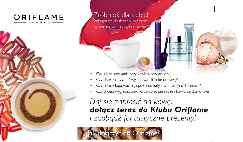 Katalog Oriflame 7 2015 program Witamy filiżanka
