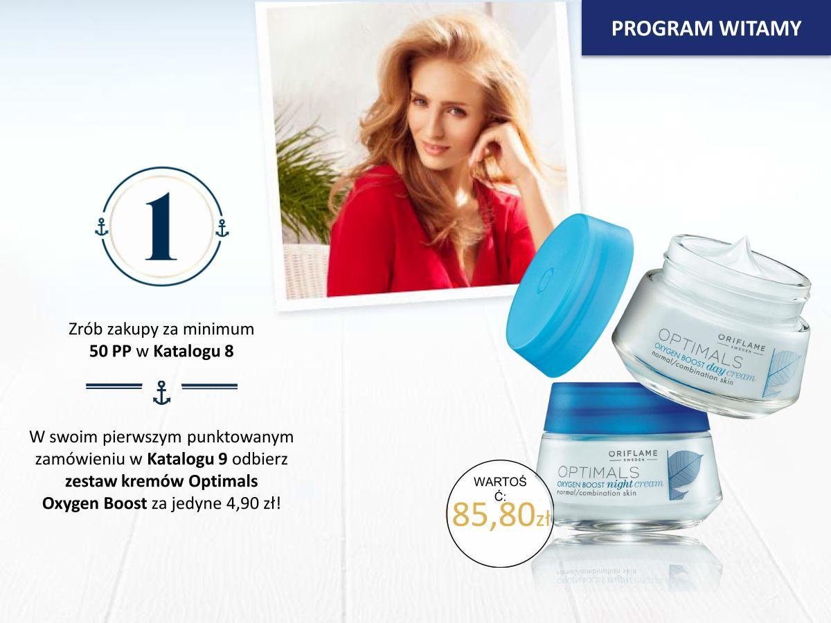 Katalog Oriflame 8 2015 program Witamy krok1