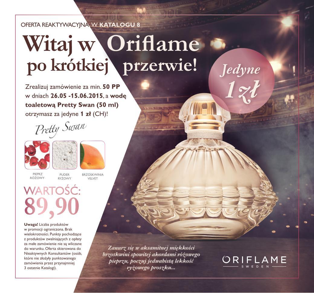Katalog Oriflame 8 2015 reaktywacja