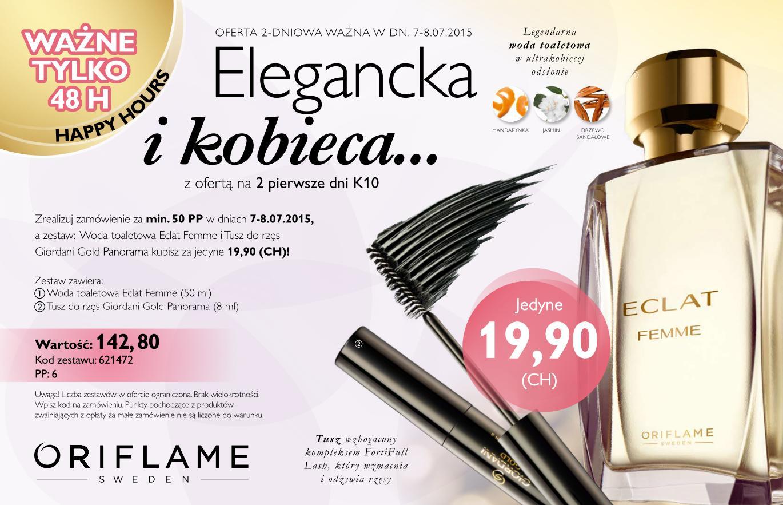 Katalog Oriflame 10 2015 oferta dwudniowa