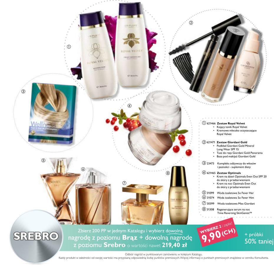 Katalog Oriflame 11 2015 Bonus dla Urody srebro