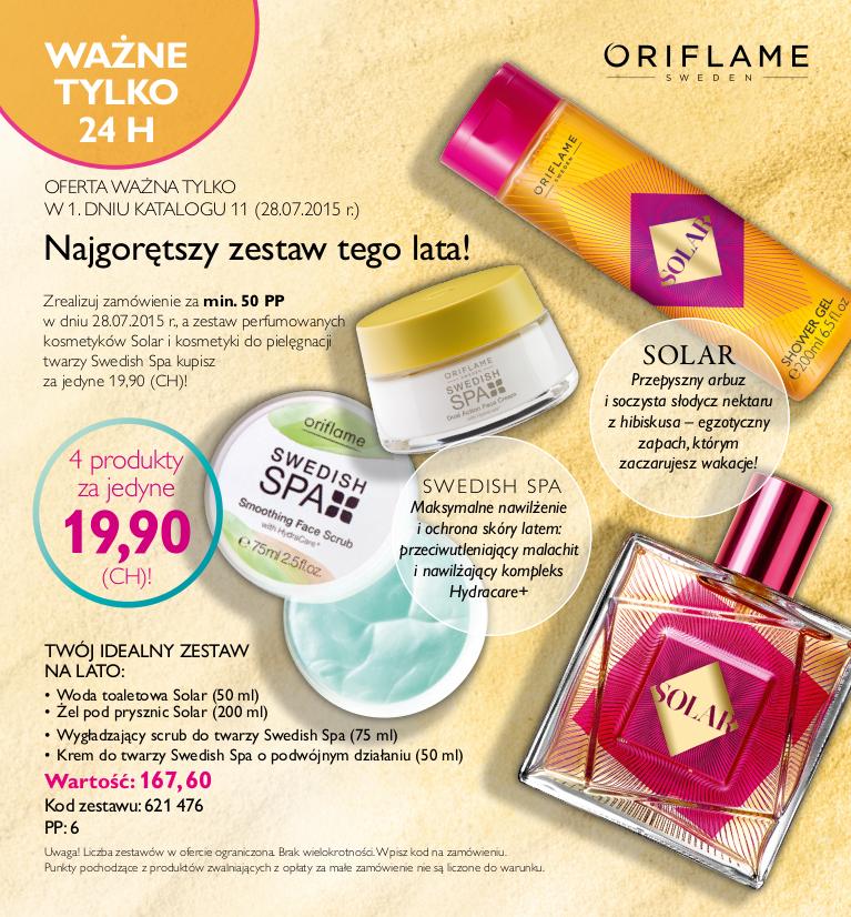 Katalog Oriflame 11 2015 oferta na 1 dzień
