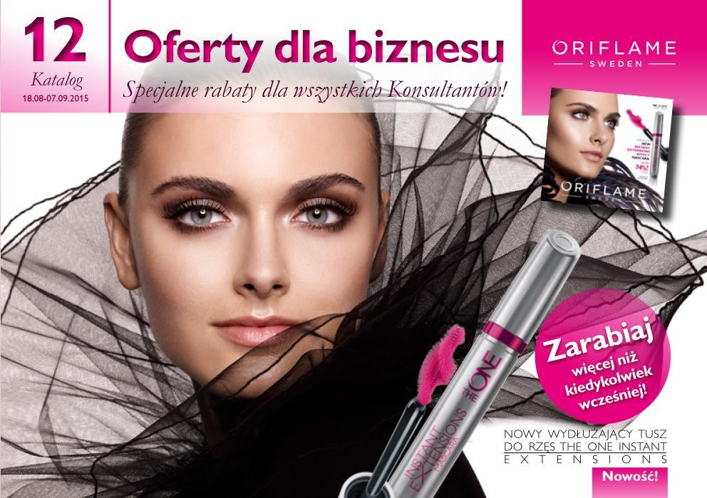 Katalog Oriflame 12 2015 oferty dla biznesu okładka