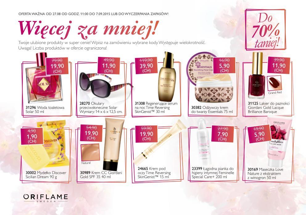 Katalog oriflame 12 2015 specjalna promocja